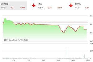 Phiên chiều 9/5: VHM thỏa thuận khủng, VN-Index giảm phiên thứ 6 liên tiếp