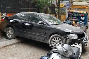 Người thoát nạn vụ ôtô Camry cán chết người: 'Chiếc xe lùi như điên'