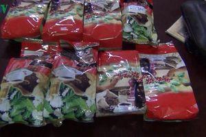 Bắt giam 3 đối tượng phân phối hàng chục cân ma túy