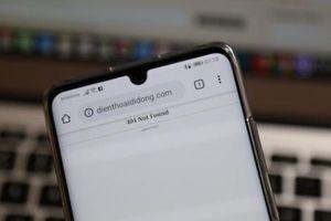 Website, trang Facebook của Nhật Cường Mobile - Số 1 về iPhone đã 'biến mất'