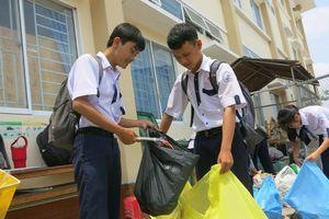 Cần Thơ: Nhân rộng mô hình 'Trường học không rác thải nhựa' tại cơ sở giáo dục