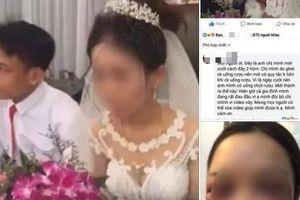 Xót xa lý do đằng sau việc cô dâu bất ngờ từ chối hôn chú rể trong đám cưới