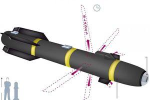 Tên lửa bí mật 'Bom Ninja' của Mỹ được thay ngòi nổ bằng... sáu lưỡi dao