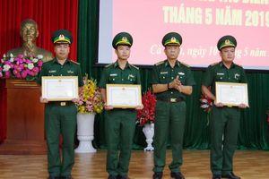 UBND tỉnh Cà Mau khen thưởng đột xuất Hải đội Biên phòng 2, BĐBP Cà Mau