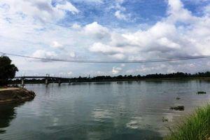 Lật xuồng trên sông Thu Bồn, một người đàn ông tử vong