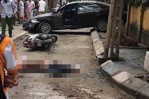 Danh tính nữ tài xế ô tô và nạn nhân bị Camry lùi đâm chết tại Hà Nội