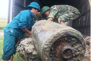 Phát hiện hai quả bom 'khủng' trong 1 ngày ở Nghệ An