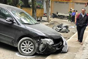 Nhân chứng kể lại giây phút nữ tài xế xe Camry lùi chết người