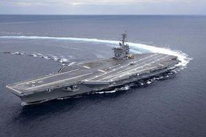 Tàu sân bay Mỹ có thể bị đánh chìm trong 'canh bạc rủi ro' với Iran