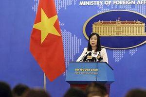 Việt Nam quan ngại sâu sắc trước việc Indonesia bắt giữ, tiêu hủy tàu cá