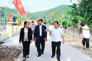 Nghệ An: Đổi thay trên quê hương nông thôn mới Mã Thành