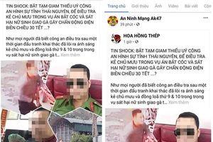 Nữ sinh giao gà ở Điện Biên bị sát hại: Sau nhiều ngày ngoan cố, Bùi Văn Công đã khai báo