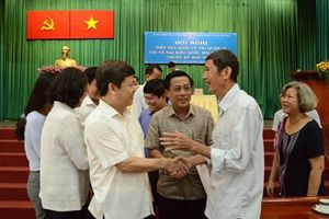 Viện trưởng VKSND tối cao Lê Minh Trí tiếp xúc cử tri phiên cuối tại TP Hồ Chí Minh
