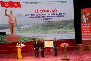 Công bố di tích quốc gia đặc biệt Đường Trường Sơn – Đường Hồ Chí Minh