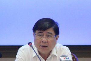 Chủ tịch UBND TP.HCM bức xúc khi nhiều dự án lớn bị trì trệ