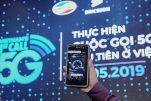 Cuộc gọi qua mạng di động 5G vừa được thực hiện lần đầu tiên tại Việt Nam