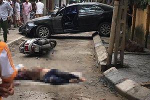 Xác định danh tính nữ tài xế Camry lùi xe khiến 1 người chết ở Khương Trung