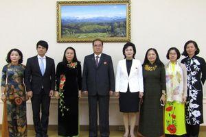Phụ nữ Việt Nam-Triều Tiên tiếp tục hợp tác vì hòa bình, hữu nghị và phát triển