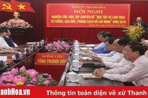 Thực hiện Chỉ thị số 05-CT/TW của Bộ Chính trị trên địa bàn tỉnh Thanh Hóa: Bài 3 - Quyết tâm đột phá, nhiệm vụ cụ thể, giải pháp khả thi