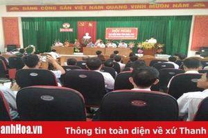 Đại biểu HĐND tỉnh tiếp xúc cử tri tại huyện Nông Cống