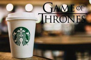 Chiếc cốc Starbucks trong Games of Thrones và tương lai của marketing trên truyền hình