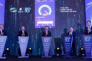 Nhà mạng thiết lập thành công cuộc gọi 5G đầu tiên