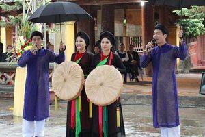Quảng bá Dân ca Quan họ Bắc Ninh tại nước ngoài