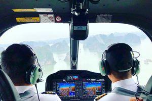 Lần đầu trải nghiệm dịch vụ ngắm Hạ Long từ trực thăng với giá 2,9 triệu đồng