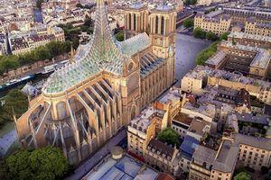 Đề xuất táo bạo 'xanh' hóa Nhà thờ Đức Bà Paris