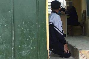 Hà Nội: Tạm đình chỉ cô giáo phạt học sinh quỳ gối tại Thường Tín