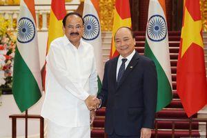 Thủ tướng hội kiến Phó Tổng thống, Chủ tịch Thượng viện Ấn Độ