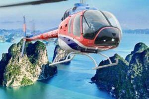 Tuần Châu: Khai trương dịch vụ bay ngắm cảnh vịnh Hạ Long