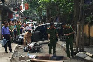 Xác định danh tính nữ tài xế lùi xe ô tô Camry đâm chết người
