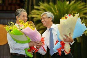Ông Võ Văn Hoan và thiếu tướng Ngô Minh Châu được bầu làm Phó chủ tịch UBND TP.HCM