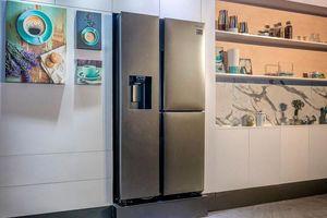 Samsung ra mắt tủ lạnh Side by Side RS5000 tăng khả năng lưu trữ