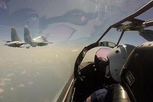 Chiến đấu cơ Nga đánh chặn máy bay Israel trên không phận Syria