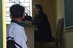 Nữ giáo viên bị tố bắt học sinh quỳ trong lớp học ở Hà Nội