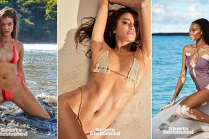 Thiên thần Victoria' Secret khoe vẻ đẹp gợi cảm trên Sports Illustrated