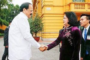 Việt Nam - Ấn Độ đặt mục tiêu kim ngạch thương mại, đầu tư lên 15 tỷ USD
