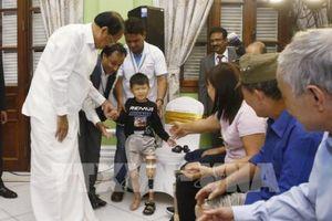 Phó Tổng thống Ấn Độ dự lễ khai trương Trại lắp chân tay giả Jaipur Foot