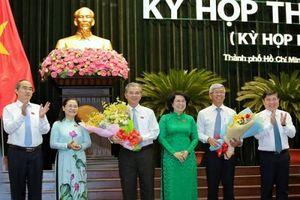 Ông Ngô Minh Châu và Võ Văn Hoan làm Phó Chủ tịch UBND TP HCM