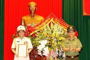 Đại tá Phạm Văn Sơn được bổ nhiệm giữ chức Giám đốc Công an tỉnh Ninh Bình