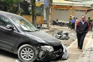 Xác định danh tính người tài xế tông lùi xe gây chết người