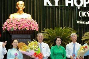TP Hồ Chí Minh có thêm hai Phó Chủ tịch UBND thành phố
