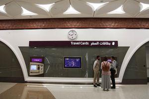 Cận cảnh hệ thống tàu điện ngầm đầu tiên ở Qatar vừa đi vào hoạt động