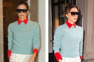 Victoria Beckham thả dáng thon quyến rũ, một mình sải bước trên phố Mỹ