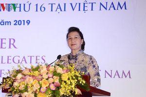 Chủ tịch Quốc hội chào đón các đại biểu tham dự Đại lễ Vesak 2019
