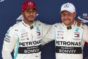 Bottas vượt Hamilton để giành pole chặng đua tại Tây Ban Nha