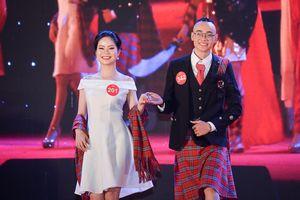 Nam sinh mặc váy trong đêm chung kết Miss & Mr ĐH Quốc gia Hà Nội