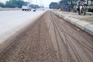 Đường gom Đại lộ Thăng Long ngập trong bùn đất: Lực lượng chức năng thờ ơ đến bao giờ?